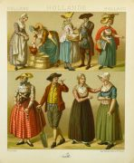 Clothing of Galicia Holland Print, 1885-main-8175K