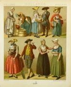 Clothing of Galicia Holland Print, 1885-main-8175K