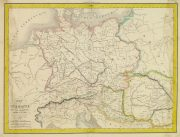 Ancient Germany Map, 1838-main-8187K