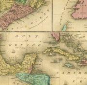 Map of West Indies & Islands, 1844-detail-8560K