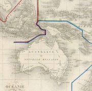 Pacific Ocean Map, 1842-detail 2-8829K