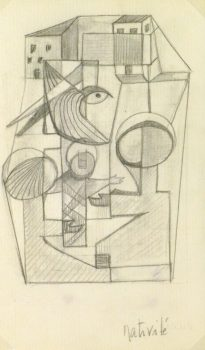 Abstract Drawing - Nativité, Circa 1930-main-9161K
