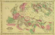 Roman Empire Map, 1868-main-9361K
