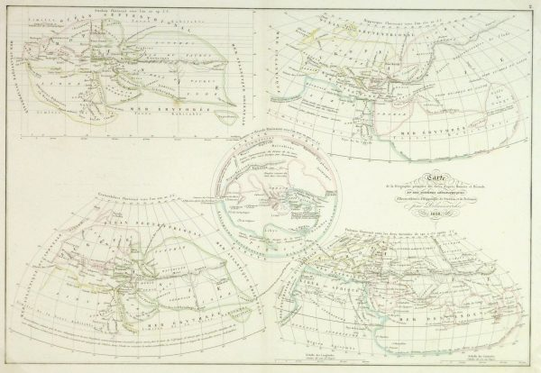 Ancient Greek Geography Map, 1838-main-9368K