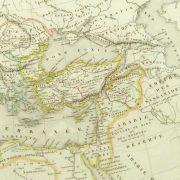 Roman Empire Map, 1845-detail-9389K