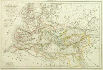 Roman Empire Map, 1845-main-9389K