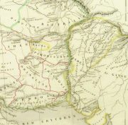 Alexander the Great Map, 1845-detail-9398K
