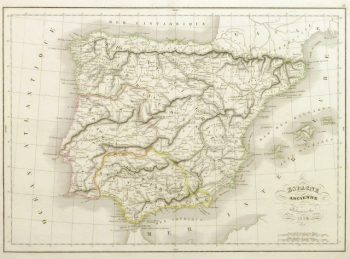 Map of Ancient Spain, 1838-main-9401K