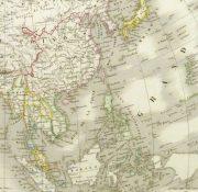Map of Asia, 1845-detail-9402K