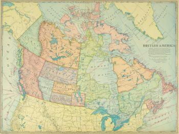 Canada Map, 1899-main-9430K