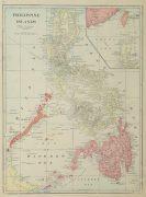Map Philippine Islands, 1916-main-9445K