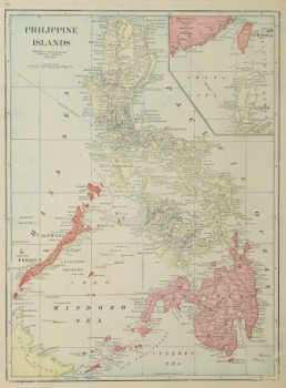 Map Philippine Islands, 1916-main-9445K