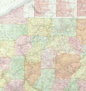Pennsylvania Railroads Map, 1906-detail 2-9460K