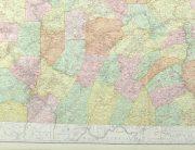 Pennsylvania Railroads Map, 1906-detail-9460K