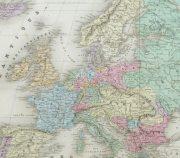 Europe Map, 1859-detail-9484K