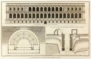 Roman Arena Print, Circa 1790-main-K5004