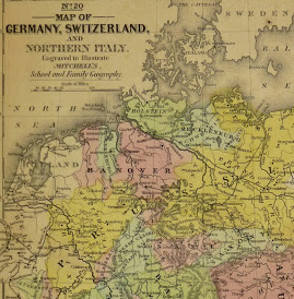Map germany switzerland 1840 original art antique maps prints vintage germany switzerland1840 detail 2 kb1675 gumiabroncs Image collections
