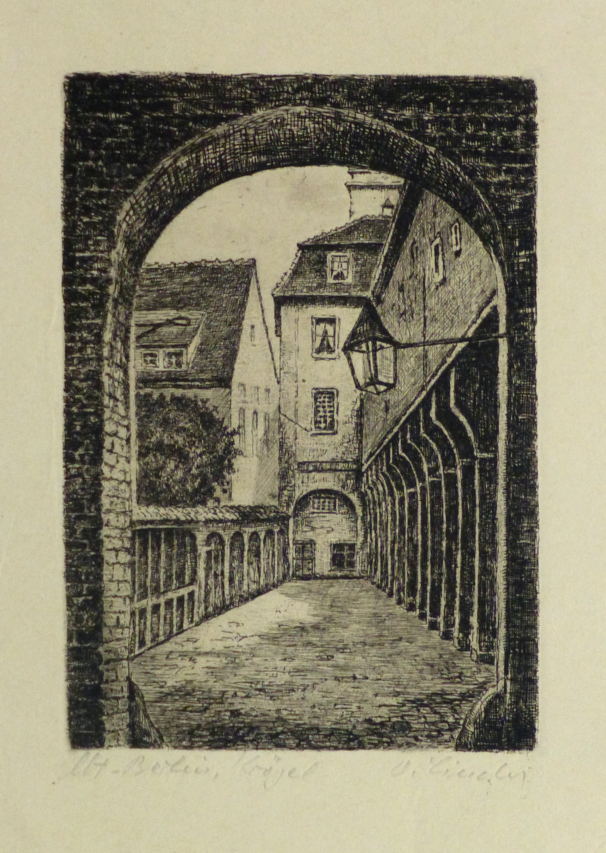 tching - The Alley, Circa 1930-main-10751M