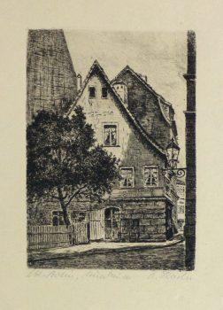 Etching - The Corner Pub, Circa 1930-main-10752M