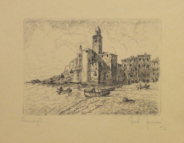 Etching - Distant Shores, 1946-main-10757M
