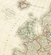Europe Map, 1842-detail 2-8825K