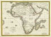Map - Africa, 1842-main-8982K