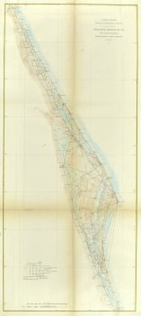 Map Florida Coast, 1879-main-9057K
