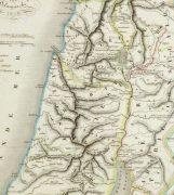 Holy Land Map, 1838-detail 2-9482K