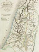 Holy Land Map, 1838-detail-9482K
