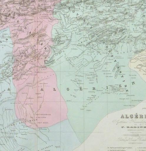 Map of Algeria, 1859-detail-9488K
