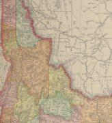 Idaho Map, 1901-detail-kb1586