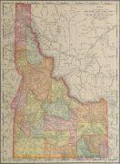 Idaho Map, 1901-main-kb1586