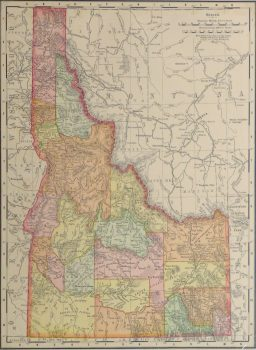 Idaho Map, 1901-main-kb1586