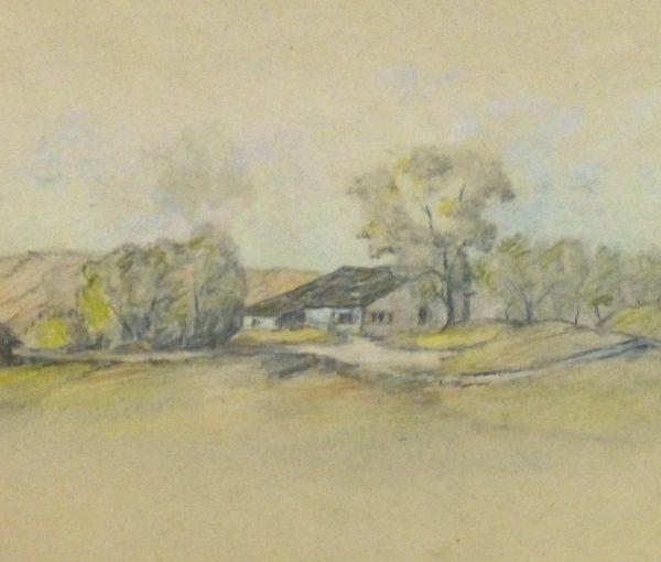 Country Drawing, Circa 1910-detail-kla1721