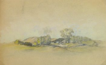 Country Drawing, Circa 1910-main-kla1721