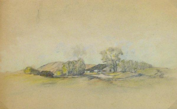 Country Drawing, Circa 1910-main-kla1721