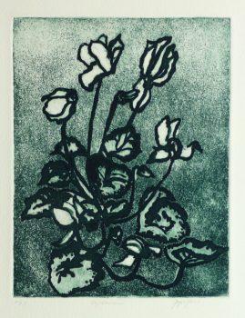 Lithograph - Les Fleurs du Mal, 1980's-main-kla2519