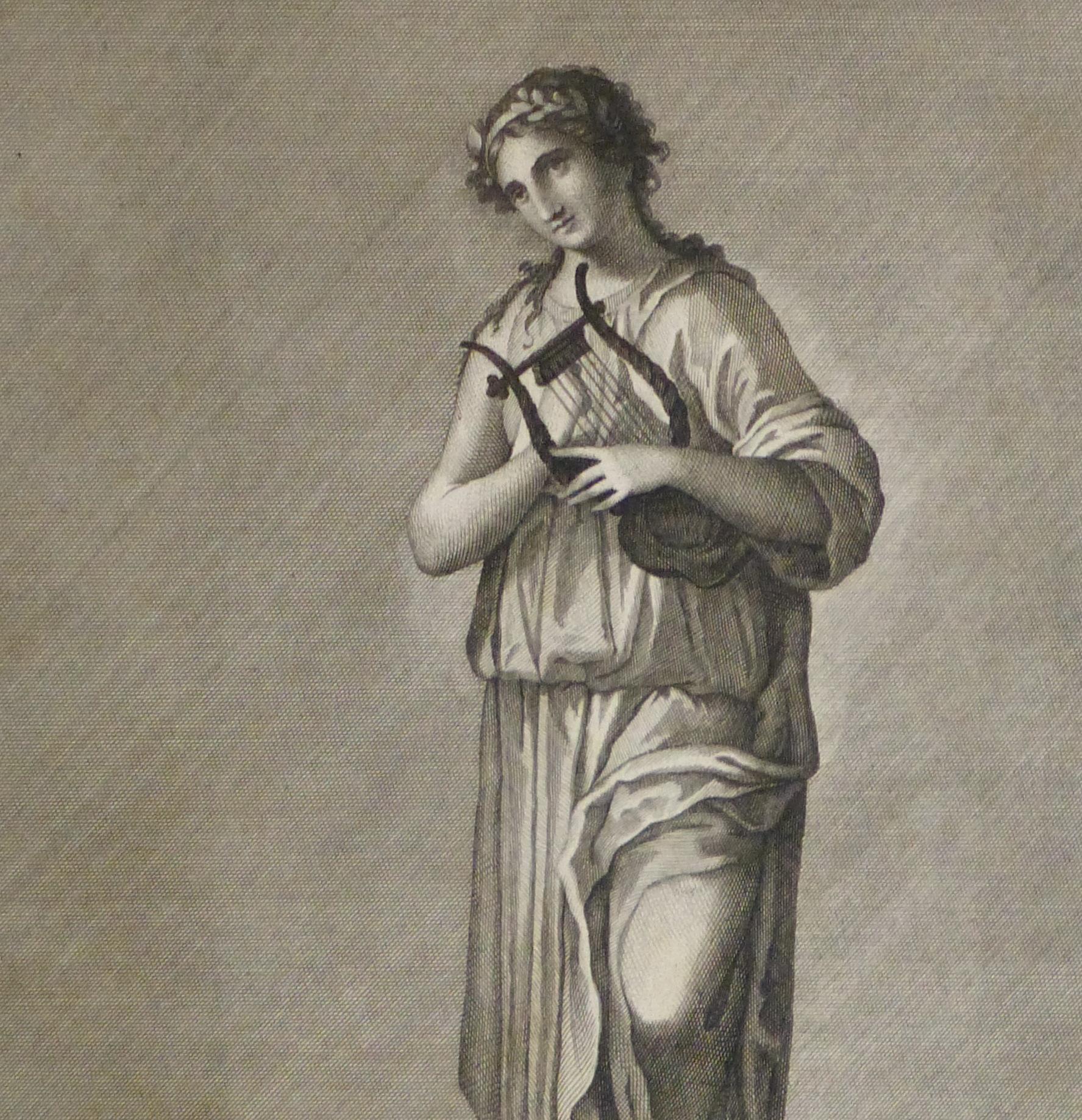 Classical Engraving, Circa 1770-detail-kla2621
