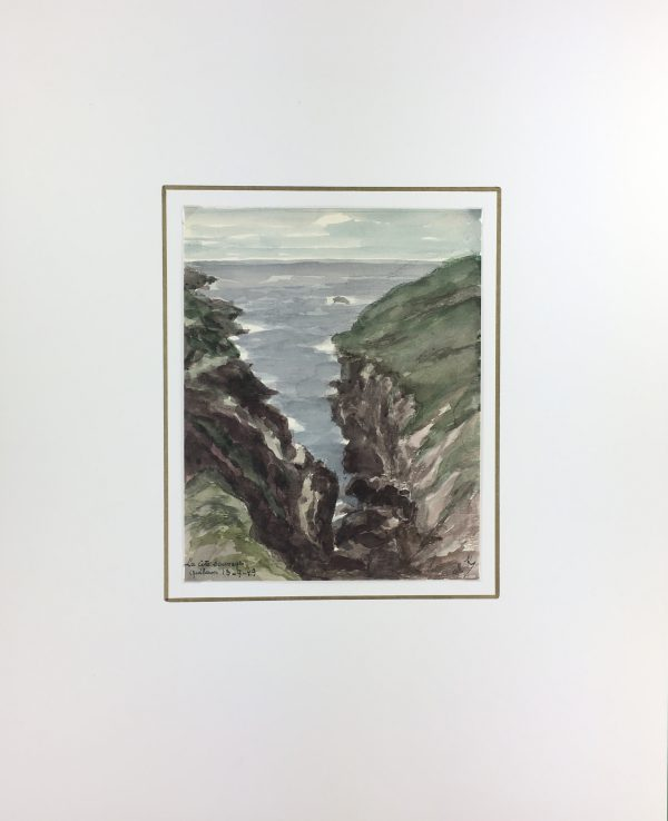 Coastal France Original Art - Quiberon, France, M. Kessler, 1949