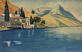 Coastal France Original Art - French Riviera, R. Bertaut, c.1930