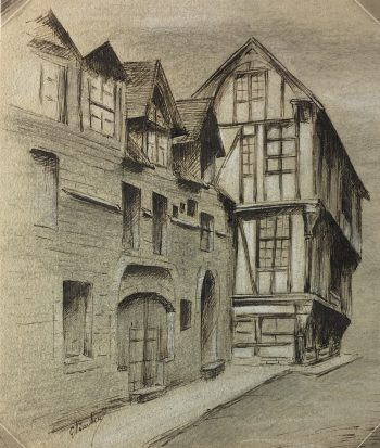 Drawings Original Art - Pen & Ink, Germain Barbier, c.1910