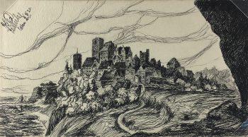 Drawings Original Art - Pen and Ink, Franz Schulze, 1920