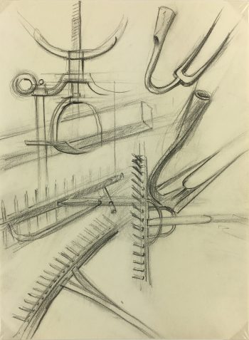 Drawings Original Art - Drawing - Tools, c.1970