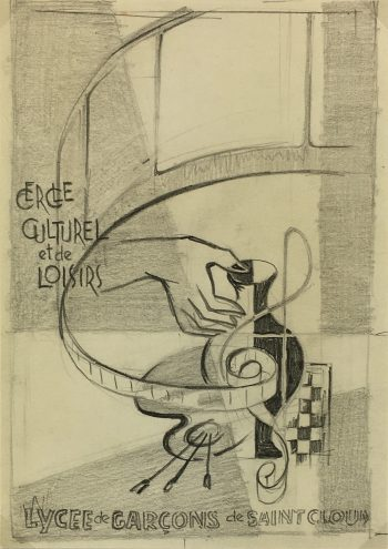 Drawings Original Art - Art Deco, Sach, c.1930
