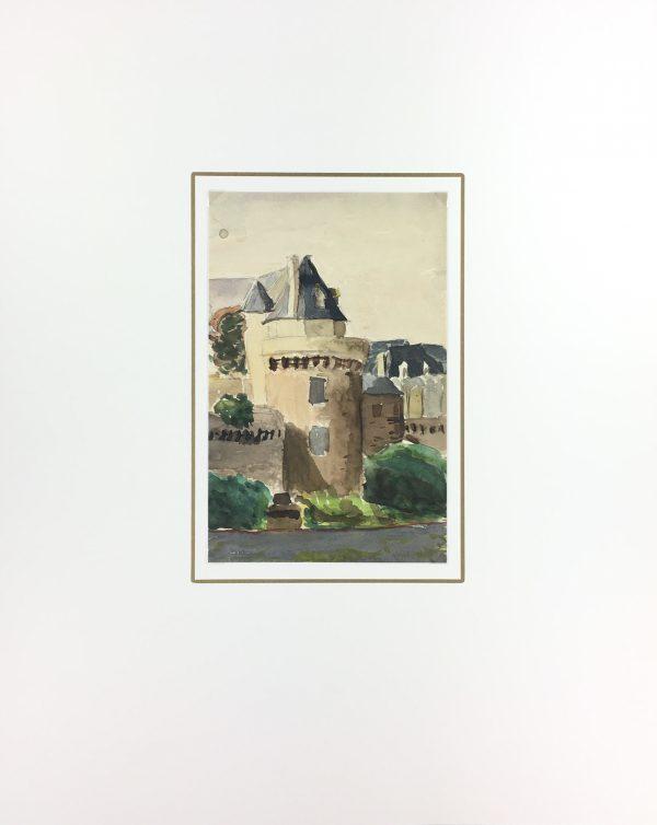 France Original Art - French Landscape, Sali, c.1940