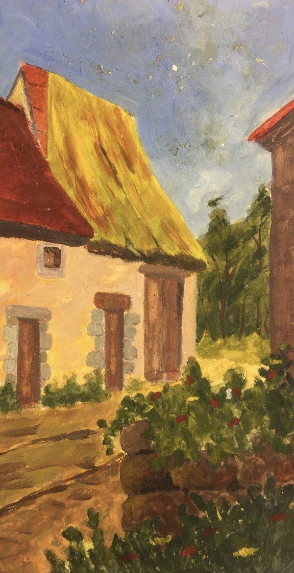 France Original Art - La Creuse, Jean Gil Sauldubois, 1943