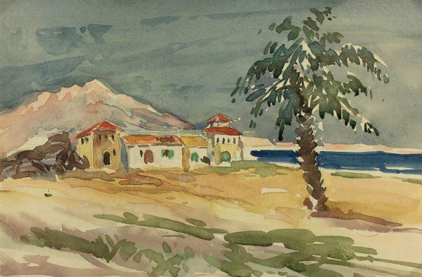 France Original Art - Warmer Climes, C. Herbetz, c.1930