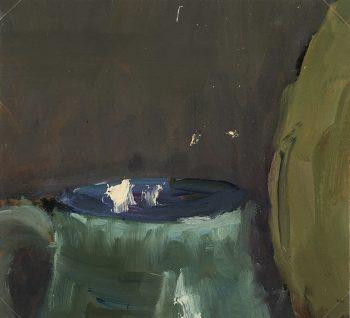 Abstract Modern Original Art - Fragment, Bailly, c.1960
