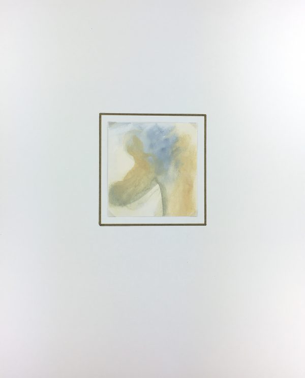 Abstract Modern Original Art - Vanilla Blue, Juan Jacobo, 2000s