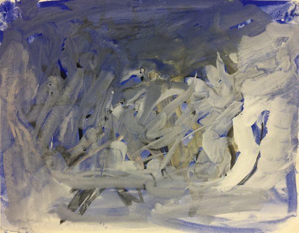 Abstract Modern Original Art - Modern, Eric Brault, c.1990